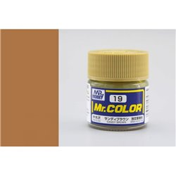 GUNZE Mr Color C019 SANDY BROWN 10ml