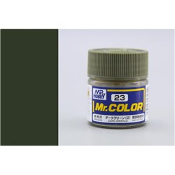 GUNZE Mr Color C23 DARK GREEN 2 SEMI-GLOSS 10ml