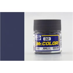 GUNZE Mr Color C32 DARK GRAY 2 SEMI-GLOSS 10ml