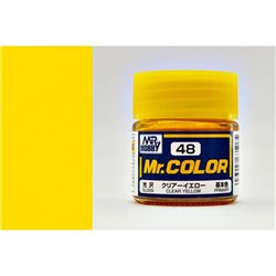 GUNZE Mr Color C048 CLEAR YELLOW 10ml