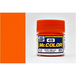 GUNZE Mr Color C049 CLEAR ORANGE 10ml