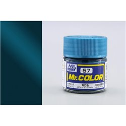 GUNZE Mr Color C057 METALLICBLUE GREEN 10ml