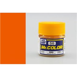 GUNZE Mr Color C058 ORANGE YELLOW 10ml
