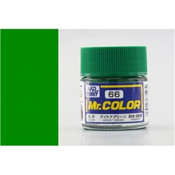 GUNZE Mr Color C066 BRIGHT GREEN 10ml