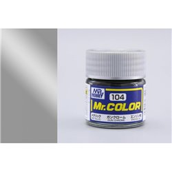 GUNZE Mr Color C104 GUN CHROME 10ml