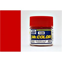 GUNZE Mr Color C108 CHARACTER RED 10ml