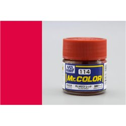 GUNZE Mr Color C114 RLM23 RED 10ml