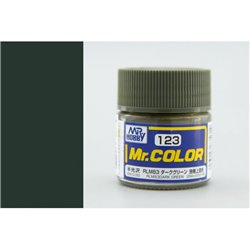 GUNZE Mr Color C123 RLM83 DARK GREEN 10ml