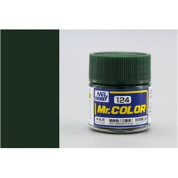 GUNZE Mr Color C124 DARK GREEN MITSUBISHI 10ml