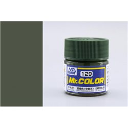 GUNZE Mr Color C129 DARK GREEN NAKAJIMA 10ml