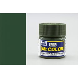 GUNZE Mr Color C136 RUSSIAN GREEN 2 10ml
