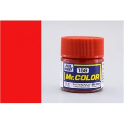 GUNZE Mr Color C158 SUPER ITALIAN RED 10ml