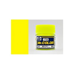 GUNZE Mr Color C172 FLUOERSCENT YELLOW 10ml