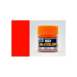 GUNZE Mr Color C173 FLUORESCENT ORANGE 10ml