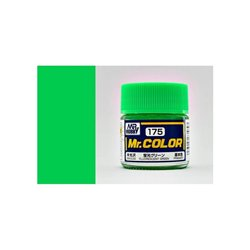 GUNZE Mr Color C175 FLUORESCENT GREEN 10ml