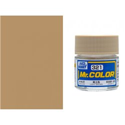 GUNZE Mr Color C321 LIGHT BROWN 10ml