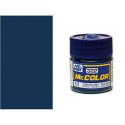 GUNZE Mr Color C322 PHTHALO CYANNE BLUE 10ml