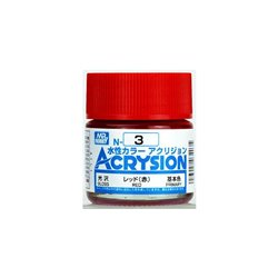 GUNZE Mr Hobby Acrysion Color N003 RED 10ml