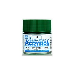GUNZE Mr Hobby Acrysion Color N006 GREEN00 10ml