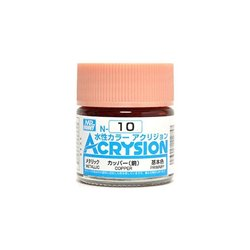 GUNZE Mr Hobby Acrysion Color N010 COPPER 10ml