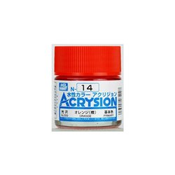 GUNZE Mr Hobby Acrysion Color N014 ORAN0GE 10ml