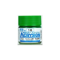 GUNZE Mr Hobby Acrysion Color N016 YELLOWGREEN0 10ml