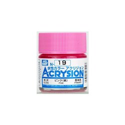 GUNZE Mr Hobby Acrysion Color N019 PIN0K 10ml