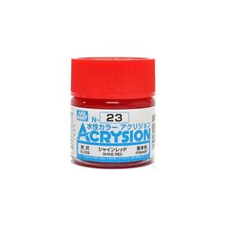 GUNZE Mr Hobby Acrysion Color N023 SHIN0ERED 10ml