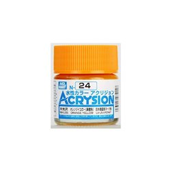 GUNZE Mr Hobby Acrysion Color N024 ORAN0GEYELLOW 10ml