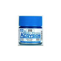 GUNZE Mr Hobby Acrysion Color N025 SKYBLUE 10ml