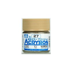 GUNZE Mr Hobby Acrysion Color N027 TAN0 10ml