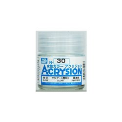 GUNZE Mr Hobby Acrysion Color N030 CLEAR 10ml