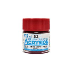 GUNZE Mr Hobby Acrysion Color N033 RUSSET 10ml