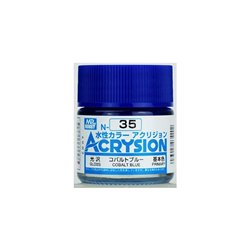 GUNZE Mr Hobby Acrysion Color N035 COBALTBLUE 10ml