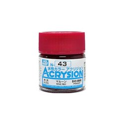 GUNZE Mr Hobby Acrysion Color N043 RUSSET 10ml
