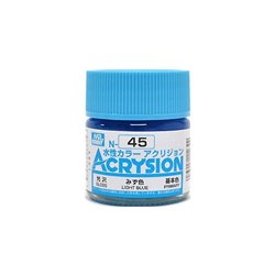 GUNZE Mr Hobby Acrysion Color N045 LIGHTBLUE 10ml