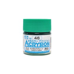 GUNZE Mr Hobby Acrysion Color N046 EMERALDGREEN0 10ml