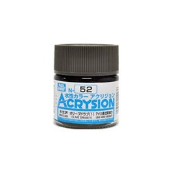 GUNZE Mr Hobby Acrysion Color N052 OLIVEDRAB1 10ml