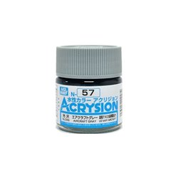 GUNZE Mr Hobby Acrysion Color N057 AIRCRAFTGRAY 10ml