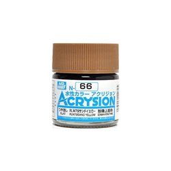 GUNZE Mr Hobby Acrysion Color N066 RLM79SAN0DYELLOW 10ml
