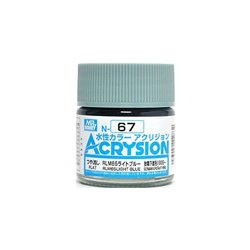 GUNZE Mr Hobby Acrysion Color N067 RLM65LIGHTBLUE 10ml