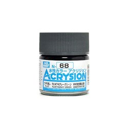 GUNZE Mr Hobby Acrysion Color N068 RLM74GRAYGREEN0 10ml