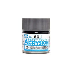 GUNZE Mr Hobby Acrysion Color N069 RLM75GRAYVIOLET 10ml