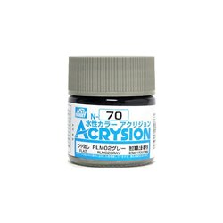 GUNZE Mr Hobby Acrysion Color N070 RLM02GRAY 10ml