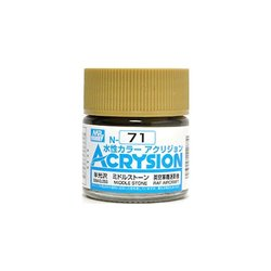 GUNZE Mr Hobby Acrysion Color N071 MIDDLESTON0E 10ml