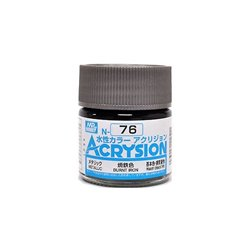 GUNZE Mr Hobby Acrysion Color N076 BURN0TIRON0 10ml