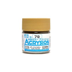 GUNZE Mr Hobby Acrysion Color N079 DARKYELLOW 10ml