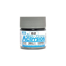 GUNZE Mr Hobby Acrysion Color N082 DARKGRAY1 10ml