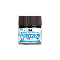 GUNZE Mr Hobby Acrysion Color N084 MAHOGAN0Y 10ml