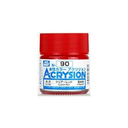 GUNZE Mr Hobby Acrysion Color N090 CLEARRED 10ml